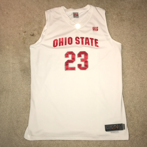 separation shoes 7f322 a37af The Ohio State University Basketball Jersey